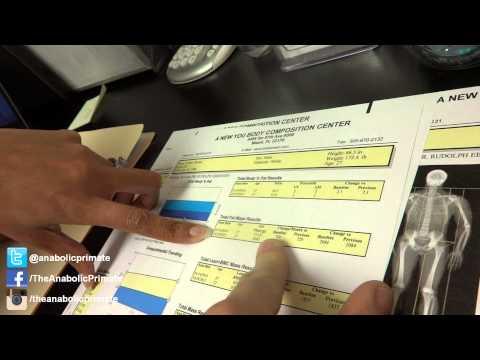 How do you analyse a DEXA scan?