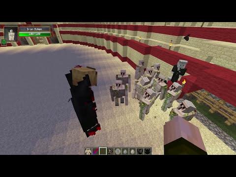 VAMPIRO VS MECH GOLEM - Minecraft Batallas de Mobs - Mods