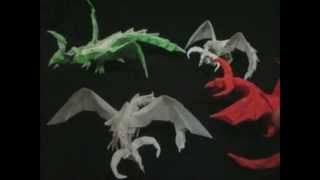 Origami Darkness Dragon 1.0 Attempts (tadashi Mori)
