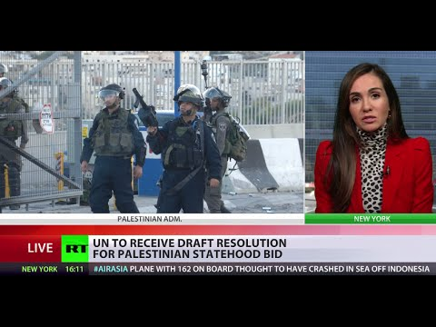 Draft resolution for Palestinian statehood calls for end to Israeli occupation