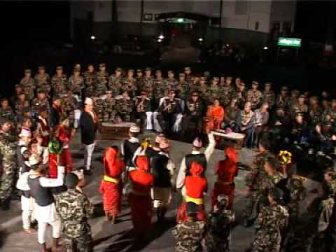 Tihar With Army ..by Kailash Grg video
