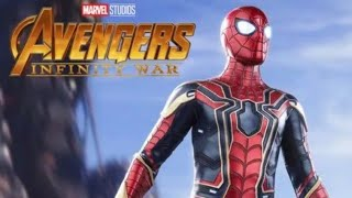 Entry of spiderman in  avengers infinity war
