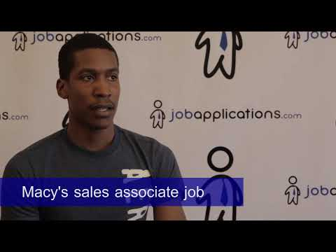Macy's Interview - Sales Associate 2