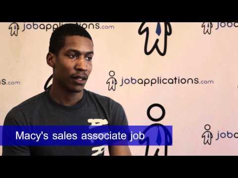 Macy's Interview - Sales Associate 2