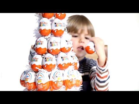 12 Kinder Surprise Eggs including 3 or 4 Kinder Joy