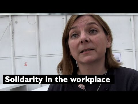 University and College Union (UCU): Sally Hunt