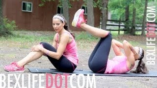 How to Lose Your Love Handles and Muffin Top Workout - BEXLIFE