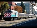 Amtrak Train 711 San Joaquin with Comet Cars - 11/2/13