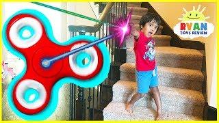 GIANT FIDGET SPINNER Chase and Hide N Seek Kids Pretend Playtime Family Fun Prank