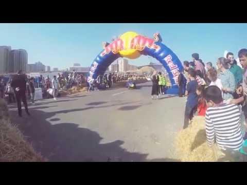 REDBULL SOAPBOX RACE BAKU 2016 crash
