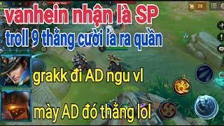 Troll Game - Giả Ngu Van Heo Sp Grakk Ad Troll 9 Thằng Cười Xỉu | Yo Game