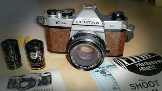 Pentax K1000 35mm Camera - The FPP Review!