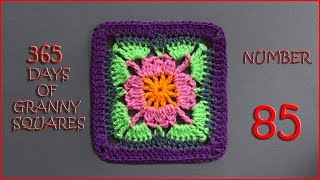 365 Days of Granny Squares Number 85