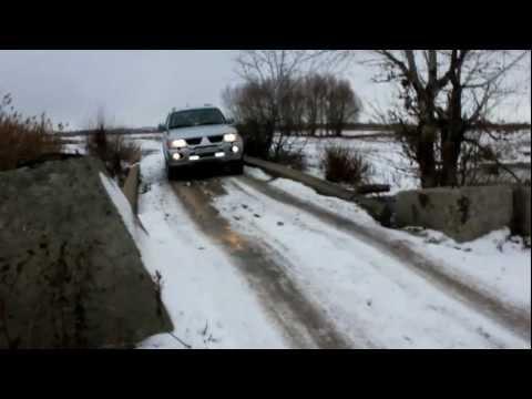 Тест Mitsubishi Pajero sport