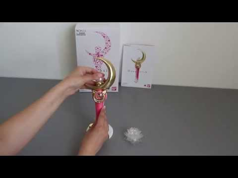 Sailormoon Moon Stick Proplica 2014 Review (german)