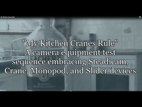"""My Kitchen Cranes Rule"""