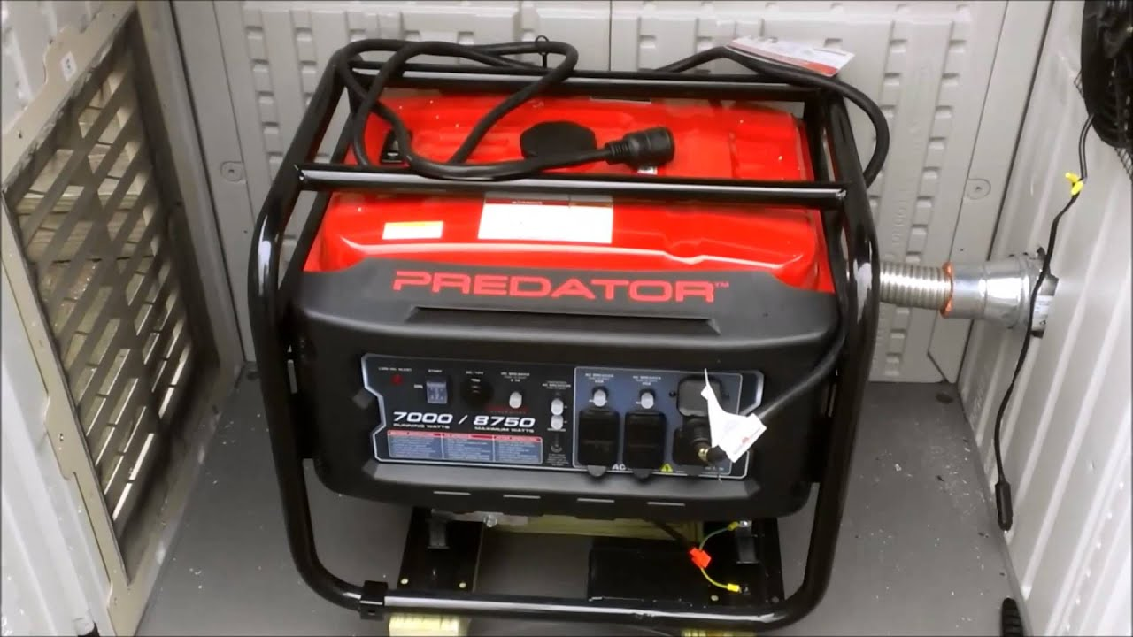 generator enclosure - YouTube