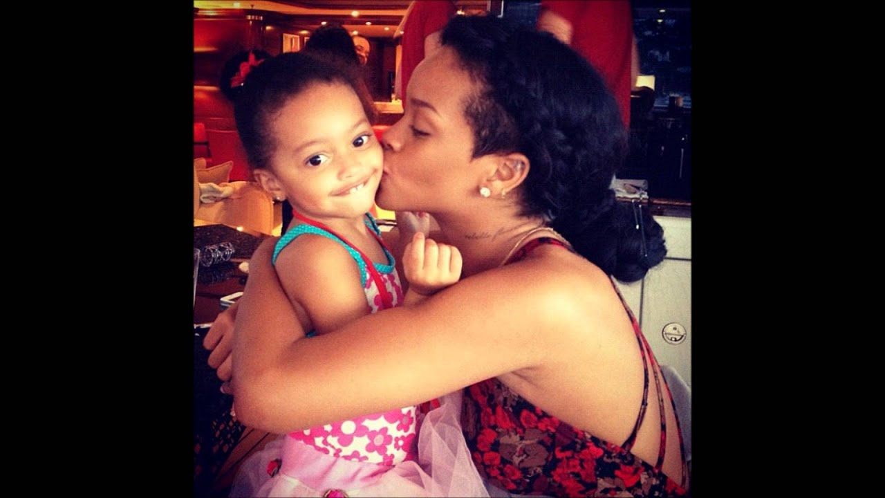 Rihanna And Her Adopted Daughter Riaanna s Real Adopted