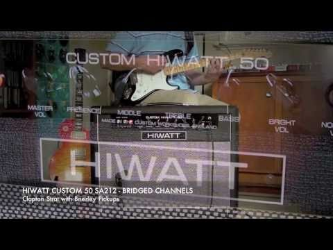 HIWATT SA212 Custom 50 Combo: 'Best Of' compilation of Burg's longer demos.