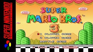 [LONGPLAY] SNES - Super Mario All-Stars - Super Mario Bros 3 (HD)