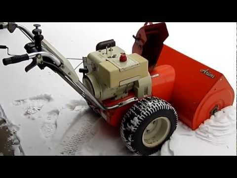 Ariens 832 Snow Blower with Clarence Impeller Kit