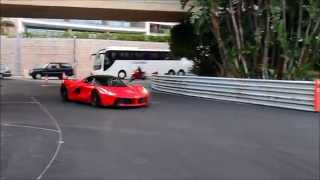 Ferrari LaFerrari - LOUD Revs and FAST ACCELERATIONS in Monaco