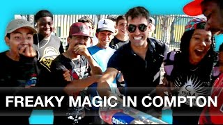 Skaters Freak Out To Magic In Compton!!!