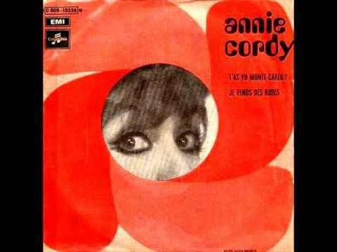 Annie Cordy Tas Vu Monte Carlo  Je Vends Des Robes