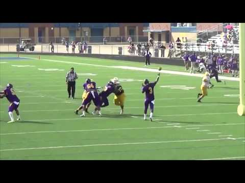 2014 FB Highlights  - Texas College