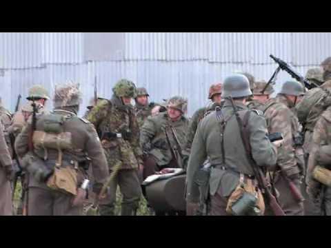 Ww2 Reenactment Holland 1944 Youtube
