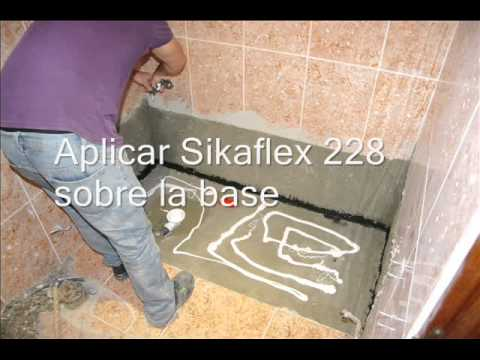 Instalaci n plato de ducha soft por ba os 10 youtube for Instalar plato ducha