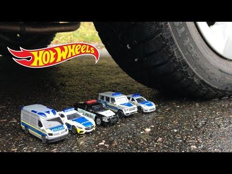 HOT WHEELS POLICE TOY CARS vs CAR