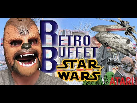 ANCIENT STAR WARS GAMES RETRO BUFFET