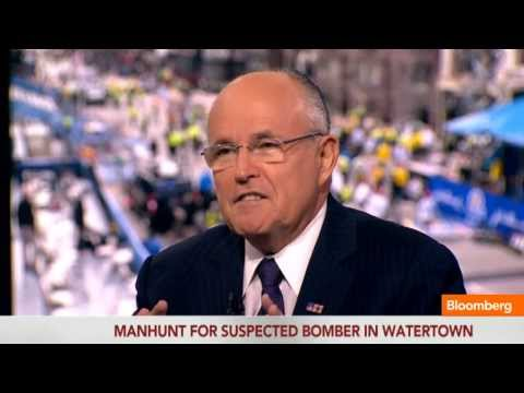Boston Looking for 'Needle in Haystack': Rudy Giuliani