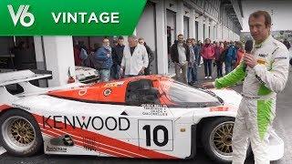 Porsche 962 C des 24h du Mans - Les essais vintage de V6