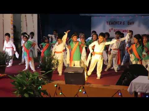 Thodi si dhul meri dharti ki dance performanced by LKG kid's