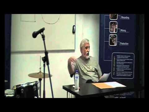 (1/9) Masterclass: Grabación y Producción Musical (baterías), por Pepe Loeches @ SAE Institute