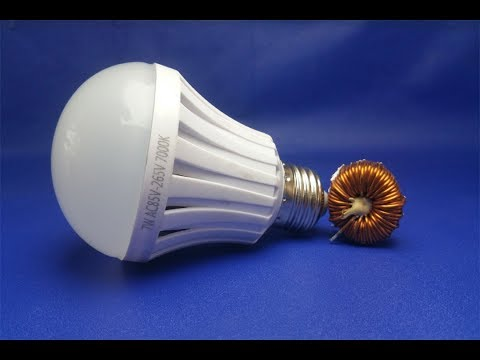 Free energy magnets with light bulbs thumbnail