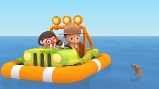 Cartoon | California Sea Lion | Learning For Kids | Leo The Wildlife Ranger #143