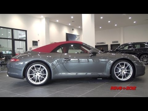 ALL NEW 2012 Porsche 911 991 Carrera Cabriolet - Full Details & In Depht Tour -