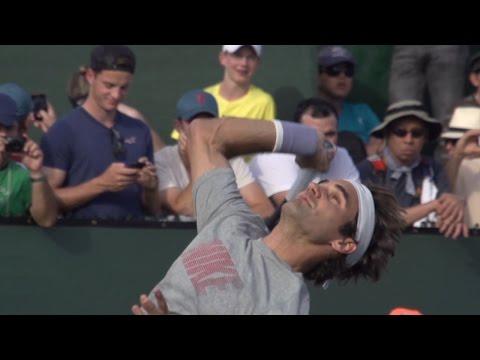 Tennis -  Roger Federer Slow Motion Serves