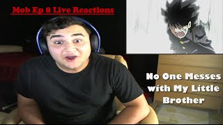 """Mob Psycho 100 Episode 8 Live Reaction """" Brotherly Love"""""""