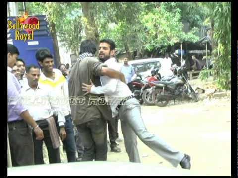 On Location of TV Serial Yeh Hai Mohabbatein-Raman Has A Fight...