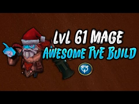 Arcane Legends - L61 Mage PvE - Build & Gear