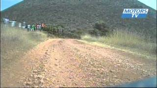 WRC Greece Day 2 Hirvonen close to a big crash