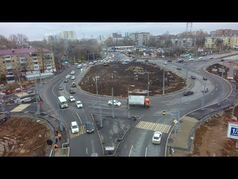 В Самаре ограничено движение по Московскому шоссе