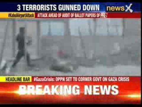Gunmen use rockets to attack Kabul airport