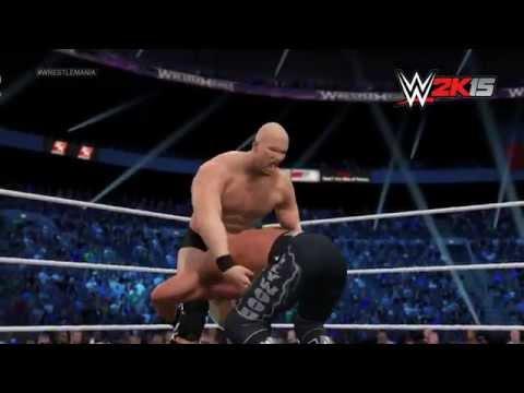 Nxt Gen Wwe 2k15 Fantasy Showdown - Hollywood Hulk Hogan Vs.stone Cold Steve Austin video