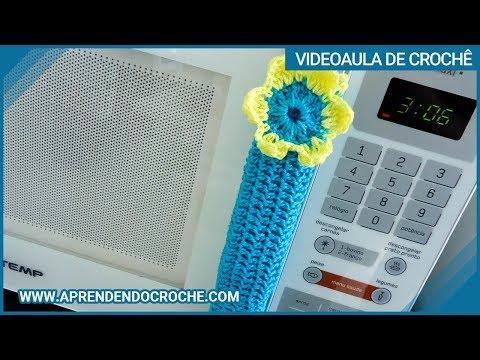 Puxador de Croche para Geladeira e Micro-ondas - Aprendendo Crochê Music Videos