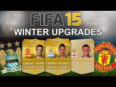 FIFA 15's BIGGEST WINTER UPGRADES! - Man Utd & Man City - Fifa 15 Player Ratings Predictions
